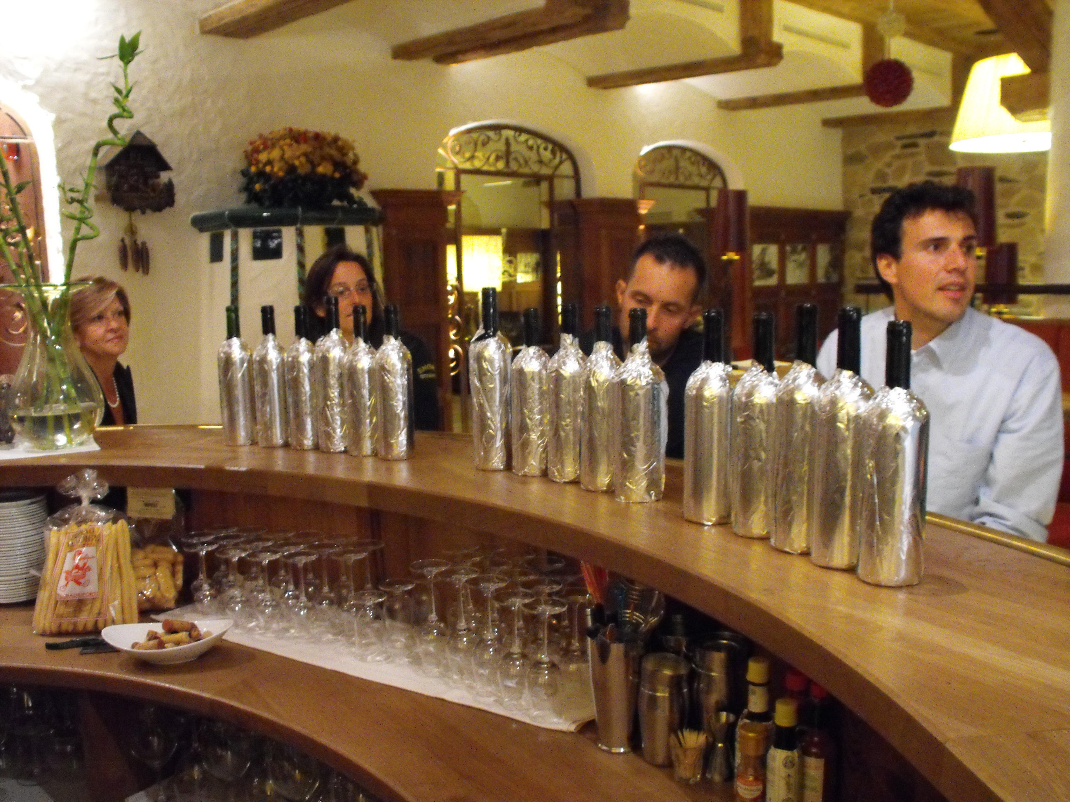 In degustazione: il Cabernet, le bottiglie