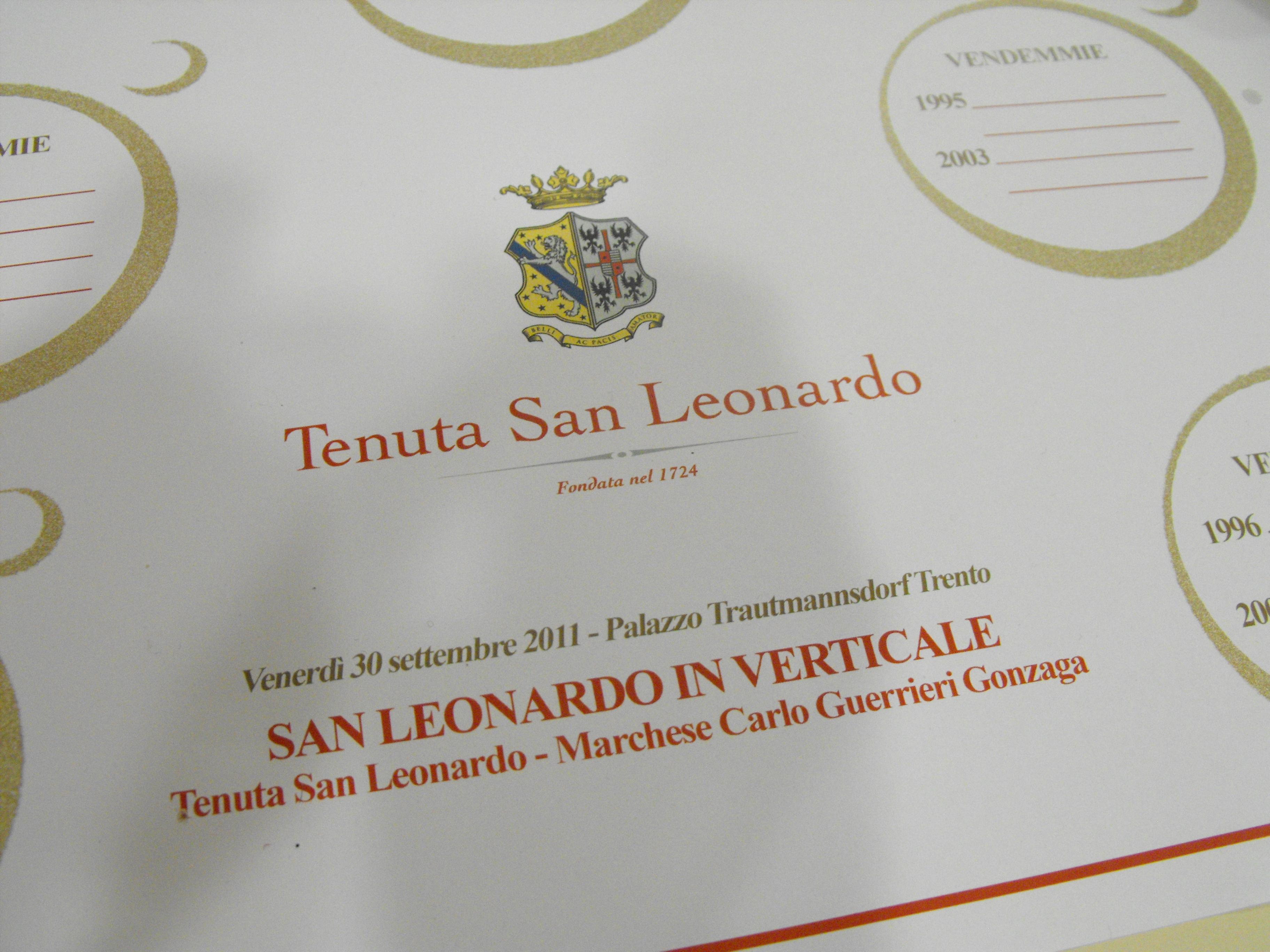 San Leonardo - verticale